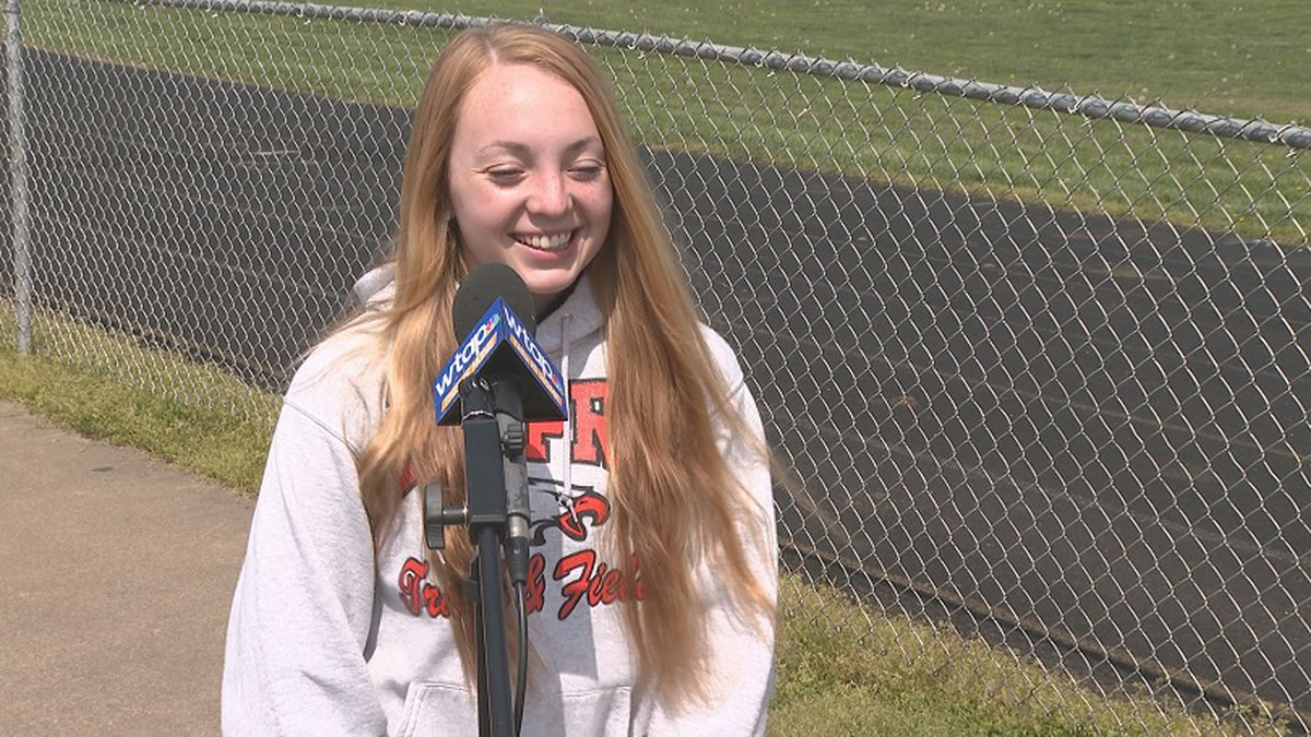 Kelly is WTAP's Student Athlete of the Week