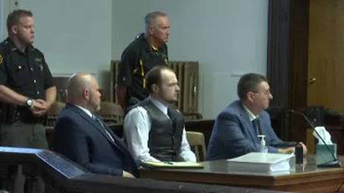 George Wagner IV in court on June 21, 2021