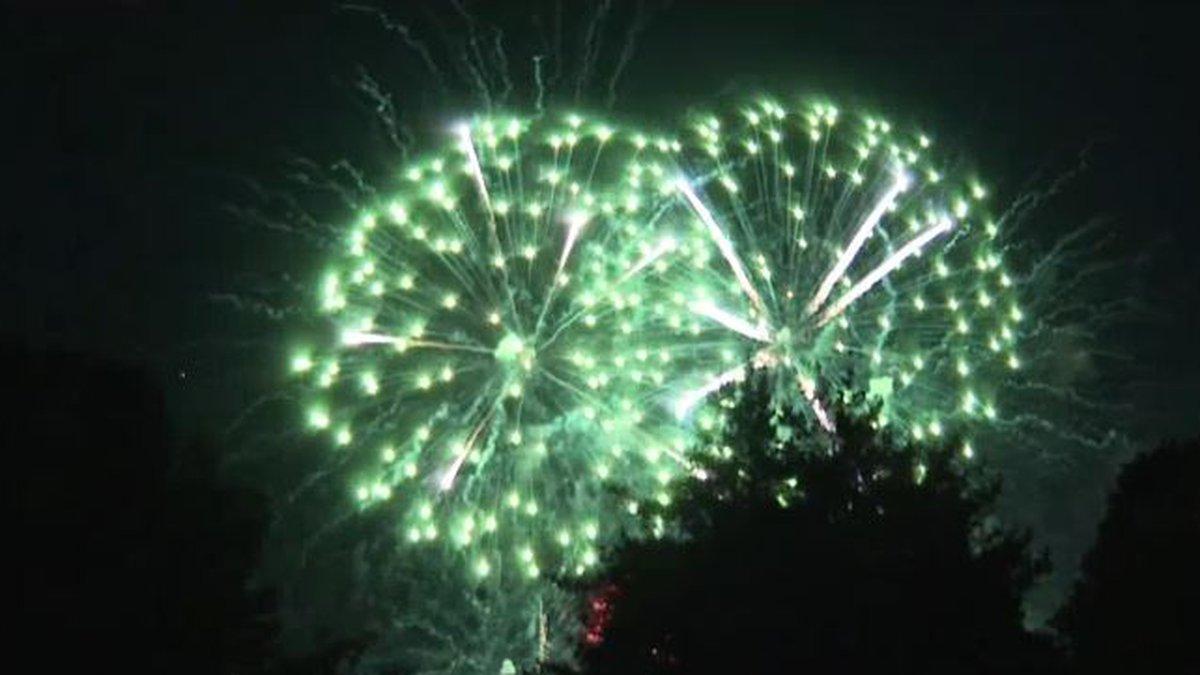 Sternwheeler Festival Fireworks