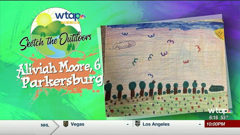 WTAP News @ 6 - Sketch the Outdoors winner Aliviah Moore
