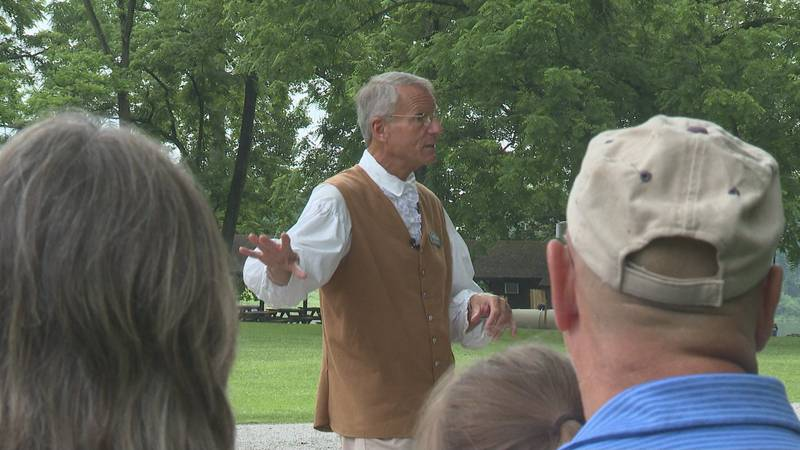 You could call Scott Cain the heartbeat of Blennerhassett Island.