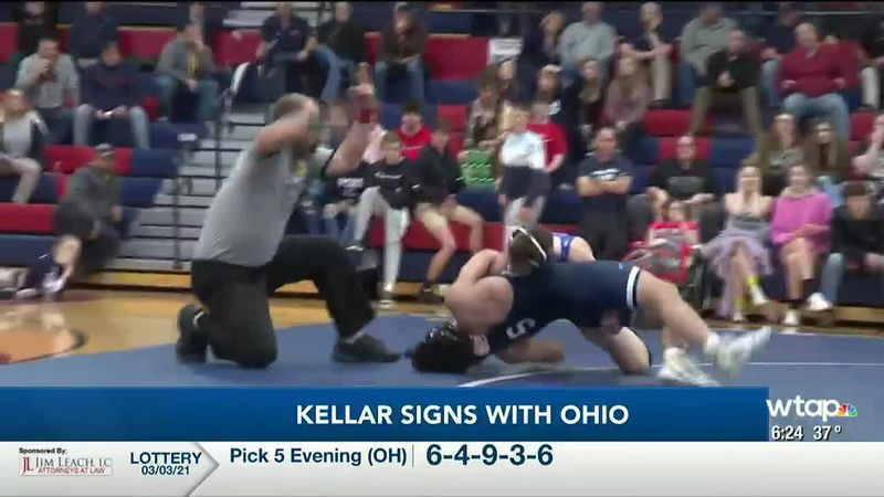 WTAP News @ 6 - Kellar signs with Ohio
