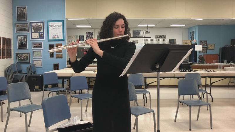 Anna Crum has auditioned for college music programs