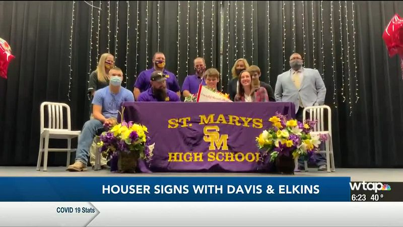 WTAP News @ 6 - Houser signs with Davis & Elkins