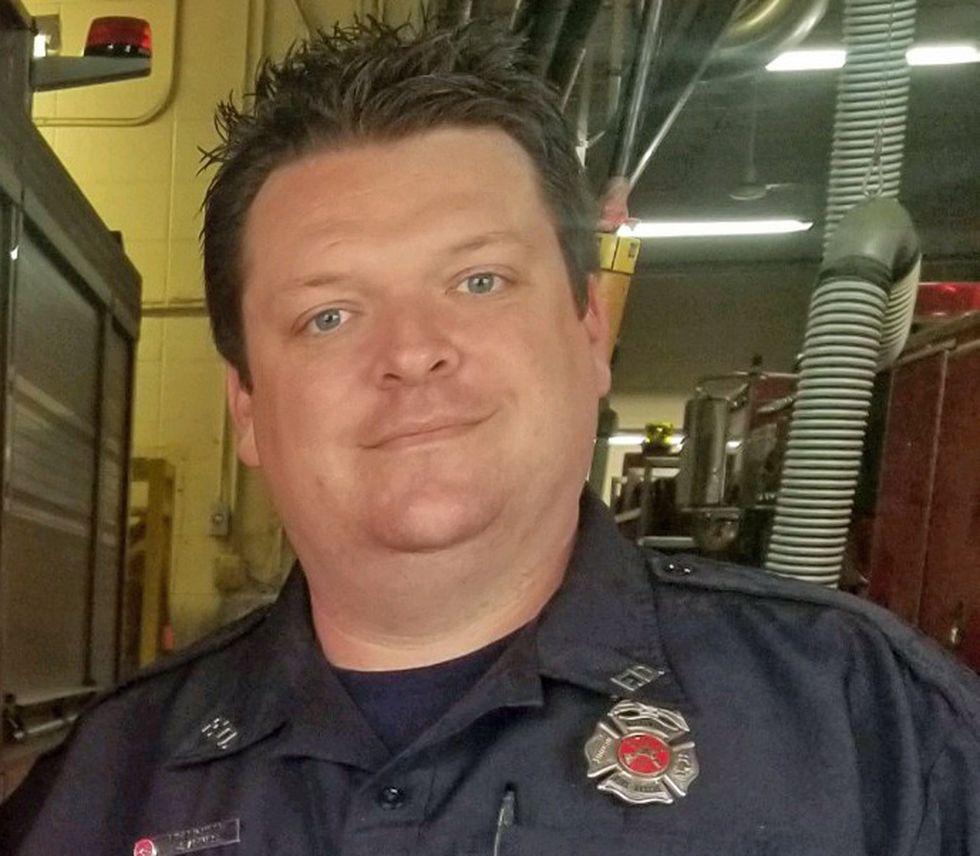 Firefighter Jeff Armes