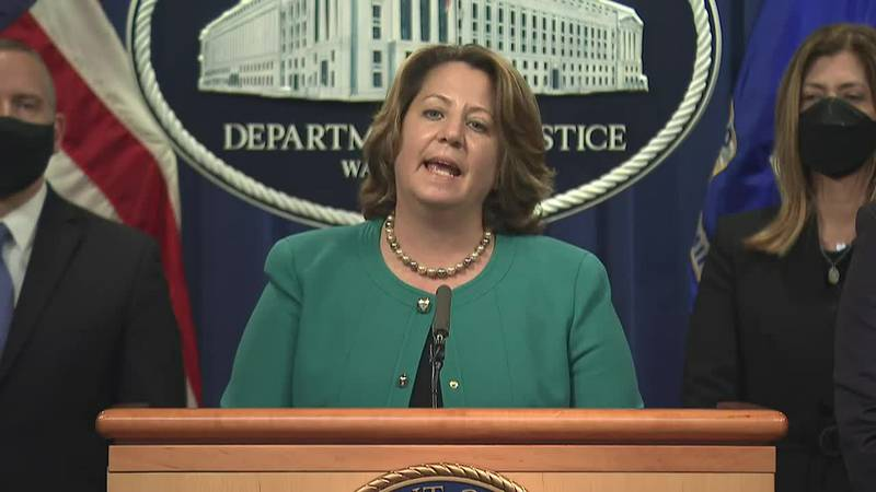 A Justice Department official said the drugs being sold via the darknet included dangerous...