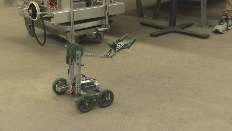 The FIRST Robotics team at Wood County Technical Center will be starting.