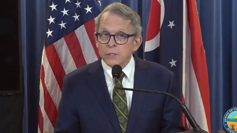 Ohio Gov. Mike DeWine says he is not ruling out a statewide mask mandate as 60 percent of the...