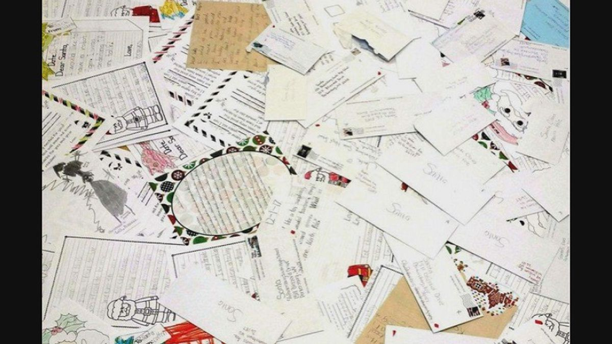 Parkersburg South students write letters from Santa
