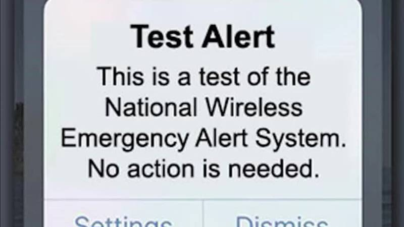 FEMA is planning a test of the Wireless Emergency Alert system on Wednesday.