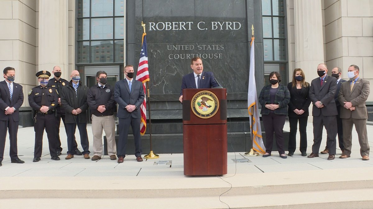 U.S. Attorney Mike Stuart announces a major drug indictment on his last day in office.