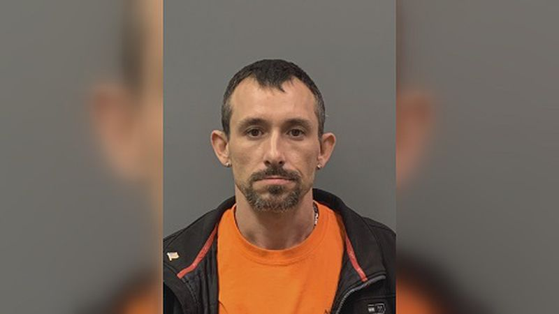 Nathan Shelton, 38, of Vienna was arrested on drug and firearm charges early Monday morning.