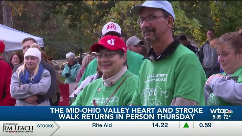 Mid-Ohio Valley Heart and Stroke Walk returns in person