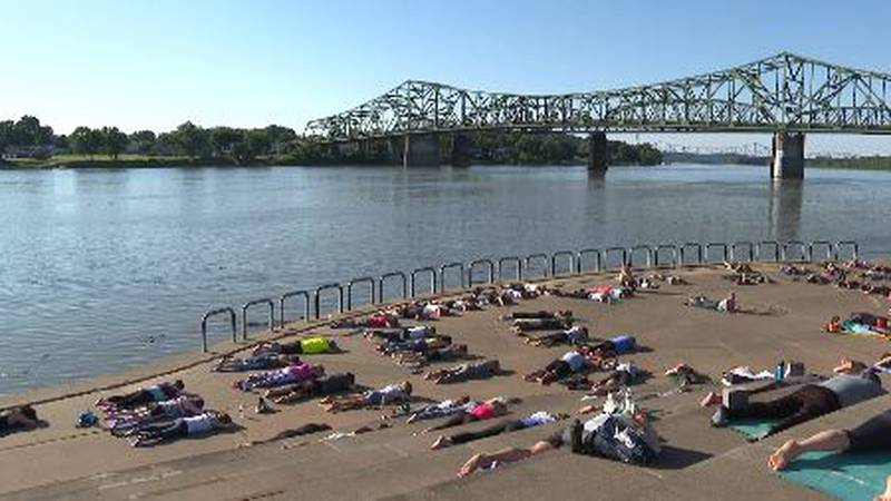 Free yoga on Wednesdays at Point Park