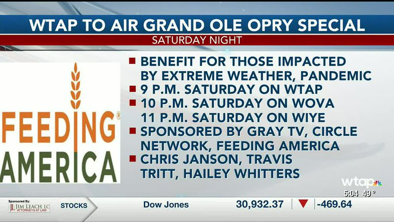 WTAP News @ 5 - WTAP to air Grand Ole Opry special