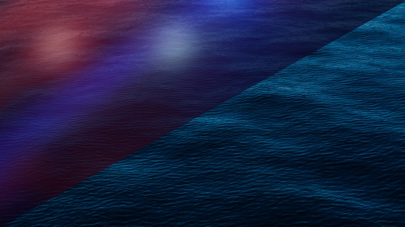 Police lights and water graphic.