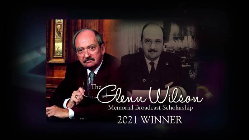 2021 Glenn Wilson Scholarship Winner