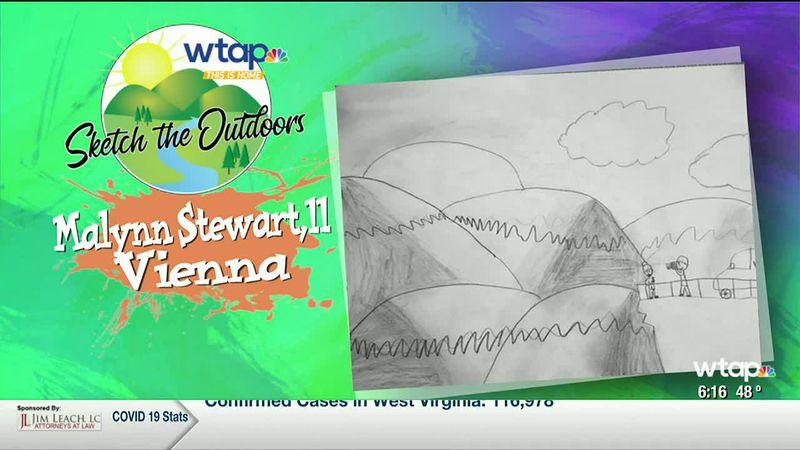 WTAP News @ 6 - Sketch the Outdoors winner Malynn Stewart