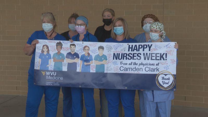 Nurses receiving appreciation for all they continue to do