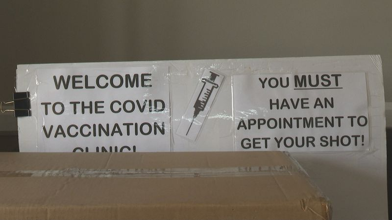 This isn't the first time this health department has had to postpone a clinic this week.