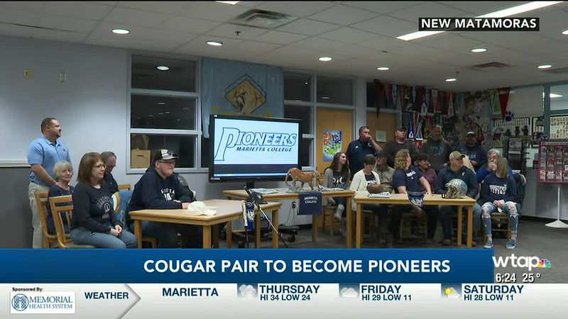 Cougar pair to play for the Pioneeers