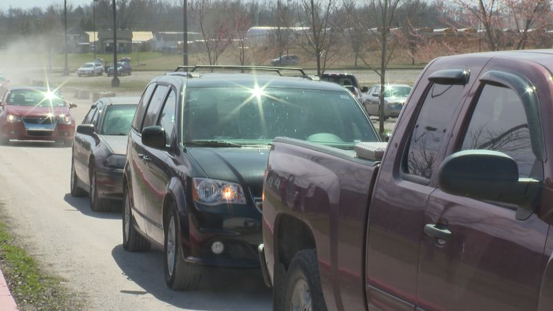 Farmers to Family food distribution goes out quickly