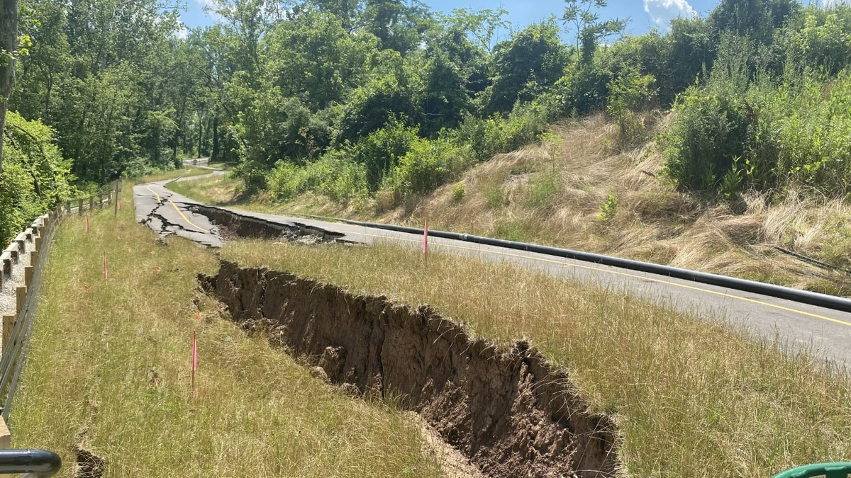 Ohio River Trail collapses