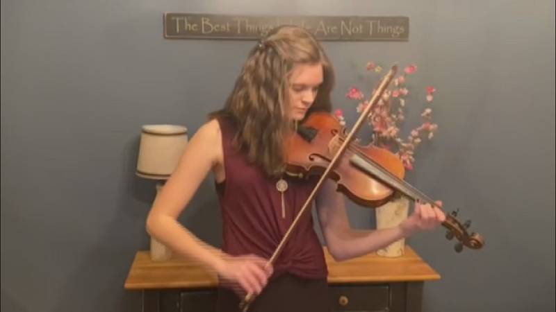 Payton Woodard was named to West Virginia All-State Orchestra