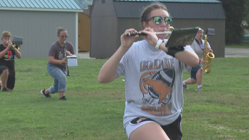"""Belpre High School band looking to """"carry on"""" after the pandemic"""