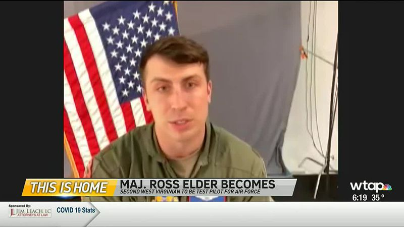 WTAP News @ 6 - This Is Home: Maj. Ross Elder becomes second West Virginian to be test pilot...