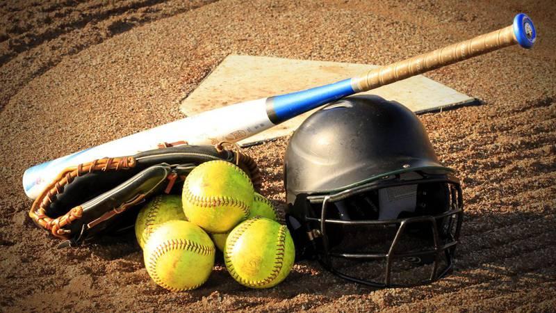 Softball and baseball scores for June 15