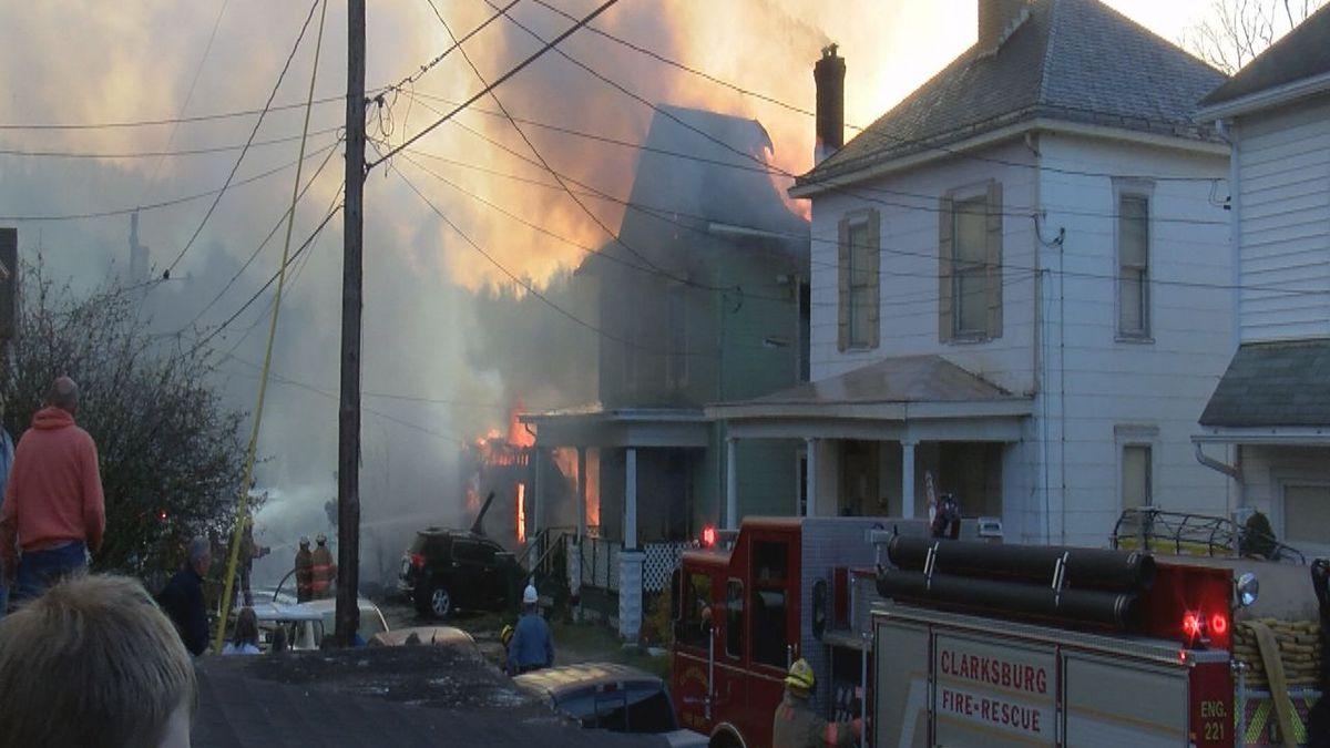 Howard Street Fire, Clarksburg