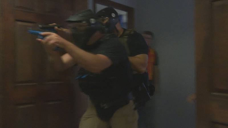 Pleasants County law enforcement receives active shooter training