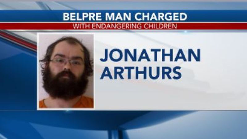 A man from Belpre is accused of child endangerment.