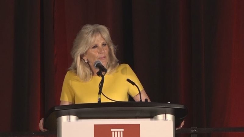 Details about first lady Dr. Jill Biden's visit to West Virginia later this week have been...