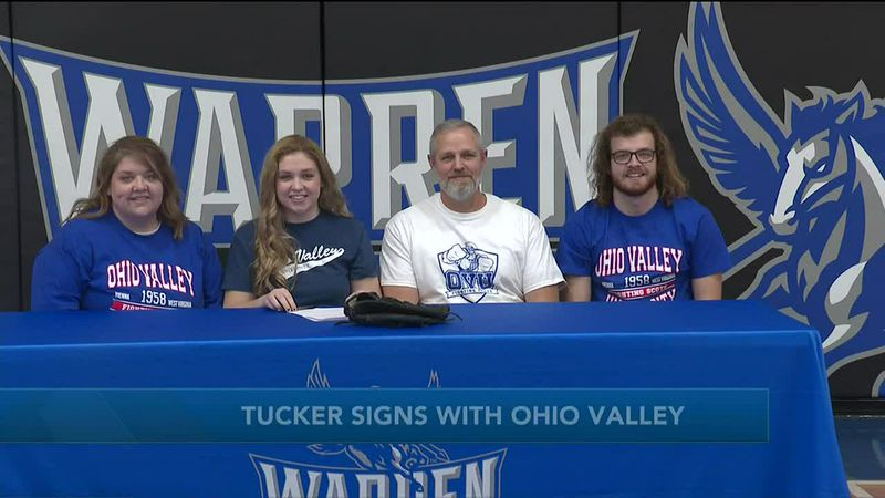 WTAP News @ 6 - Tucker signs with Ohio Valley