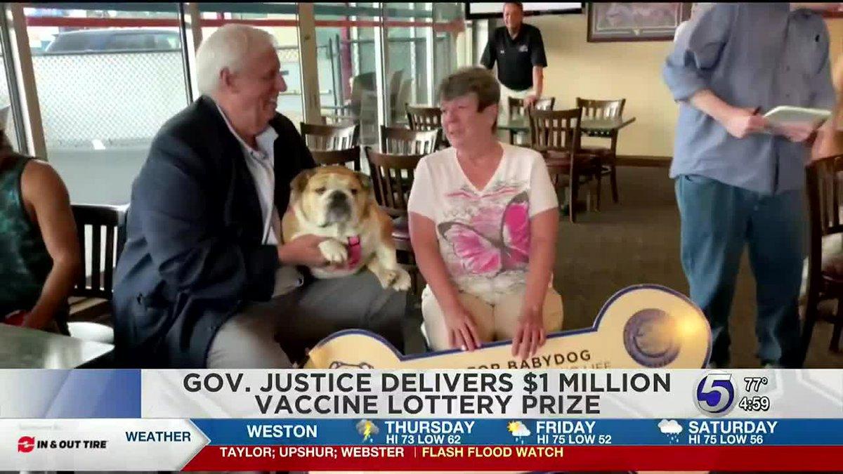 Morgantown resident wins million dollar vaccine lottery