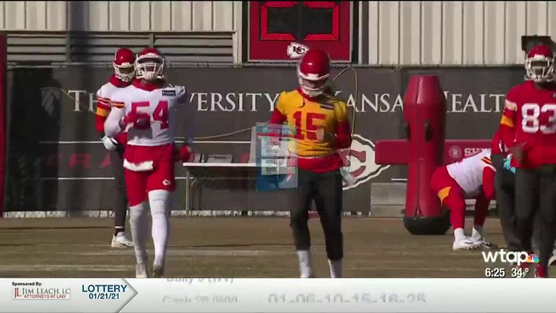 WTAP News @ 6 - Mahomes cleared to play
