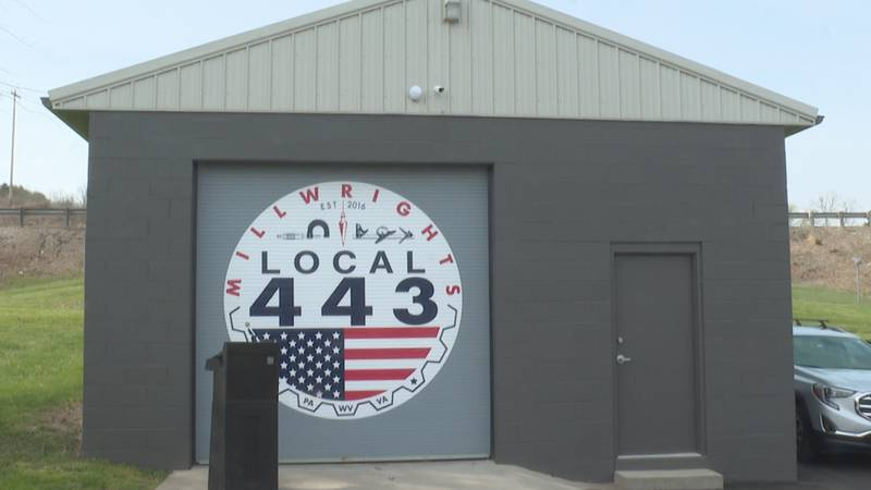 Millwright Local 443 in Parkersburg held a ribbon-cutting ceremony April 8 to celebrate the...