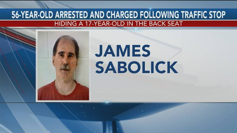 Sabolick was arrested July 24 following a traffic stop for a lane violation, and the patrolman...