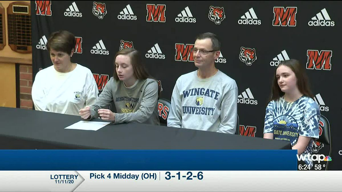 WTAP News @ 6 - Schuck signs with Wingate