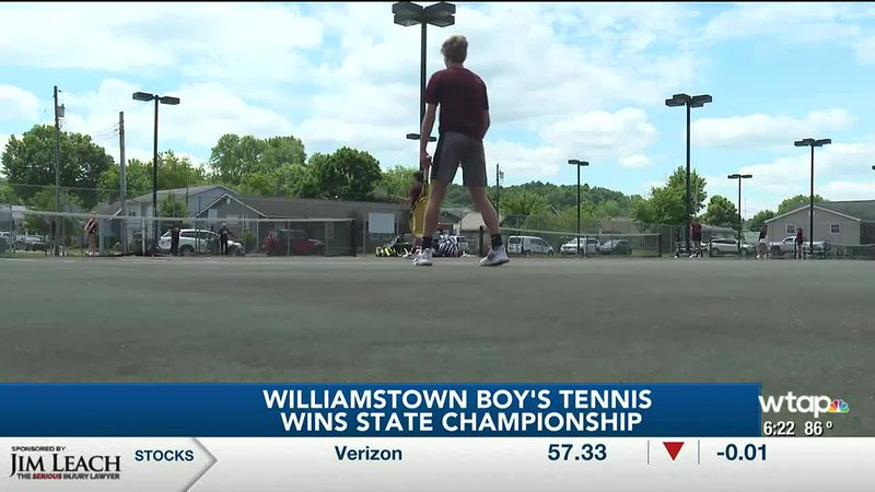 Williamstown Boys Tennis Reactions to Winning State Title