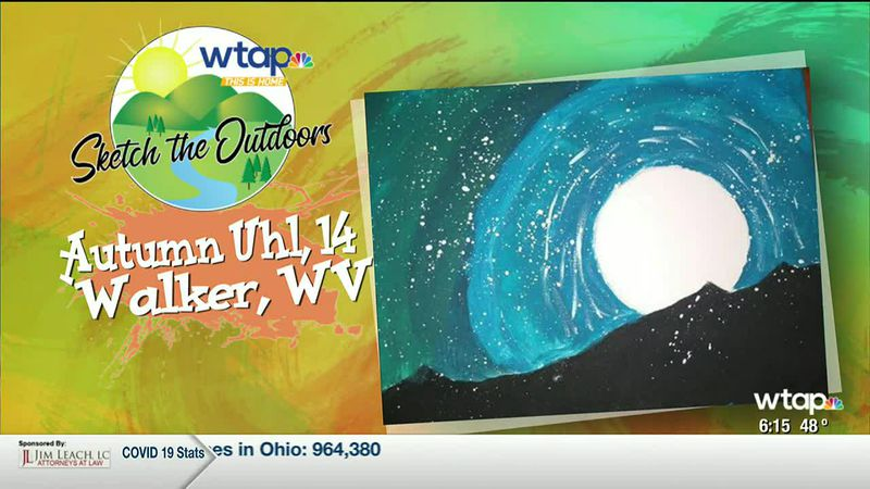 WTAP News @ 6 -Sketch the Outdoors winner Autumn Uhl