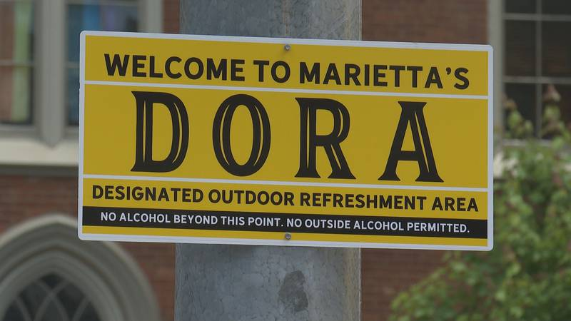 Downtown Marietta DORA opens