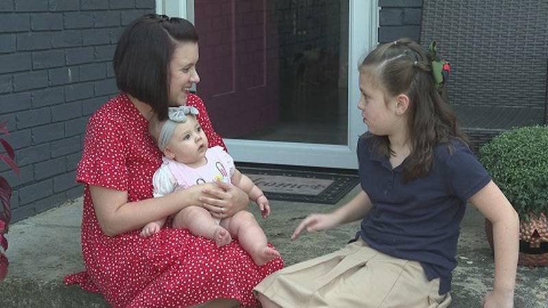 Jana Thomas and her kids