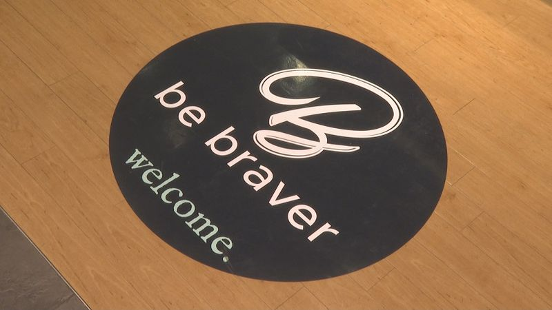 The Be Braver Co. store at the Grand Central Mall helps feed people in Guatemala