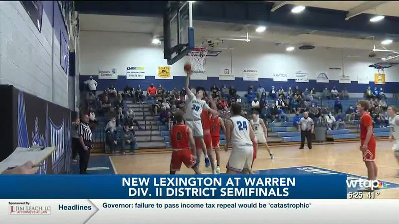WTAP News @ 6 - New Lexington at Warren Div. II District Semifinals