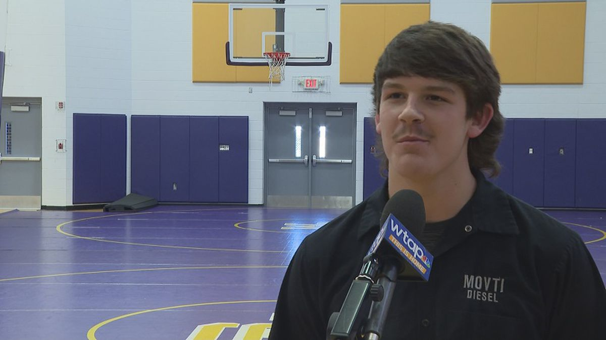 Cyle West is WTAP's Student Athlete of the Week