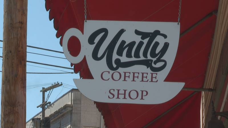 Former Parkersburg resident and Unity Cafe regular wins mural contest