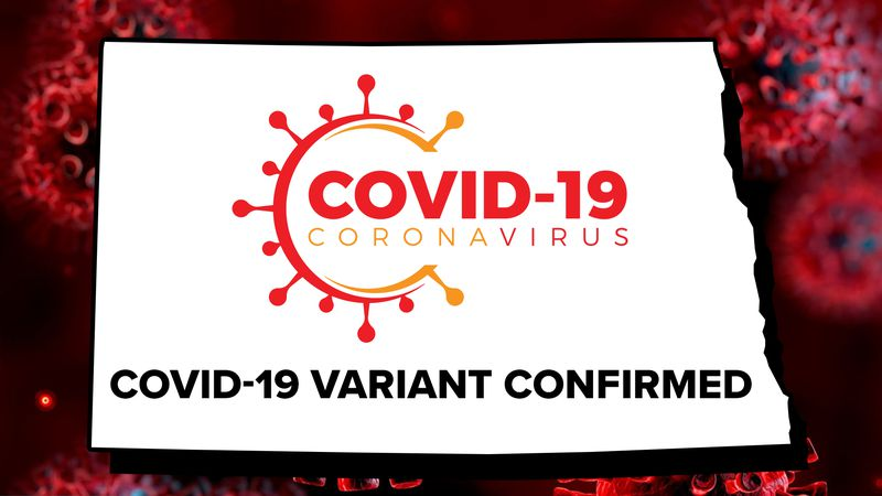 ND COVID-19 Variant Graphic
